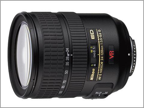 Camera Lens - Nikon - 24-120mm f/3.5-5.6 VR