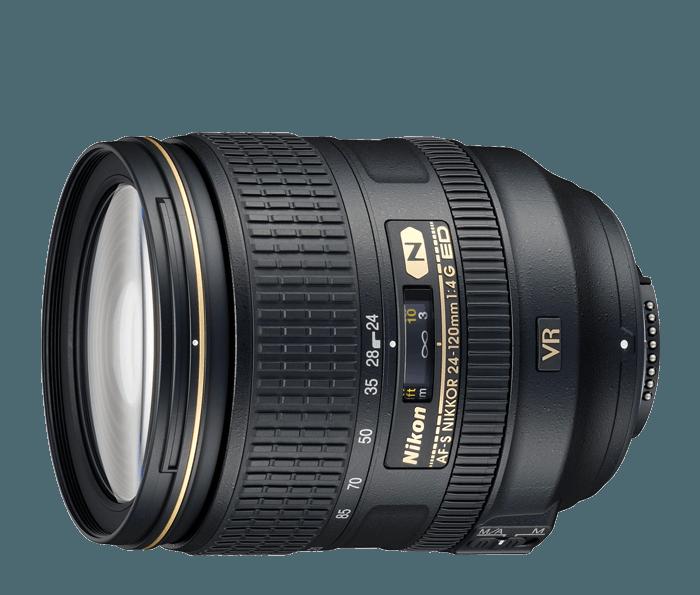 Camera Lens - Nikon - 24-120mm f4 VR