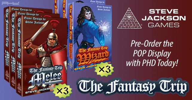 The Fantasy Trip - Melee & Wizard POP Display