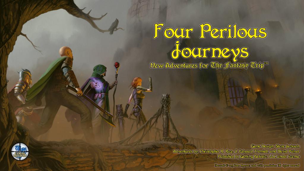 The Fantasy Trip - Four Perilous Journeys