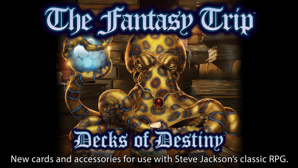 The Fantasy Trip - Decks of Destiny
