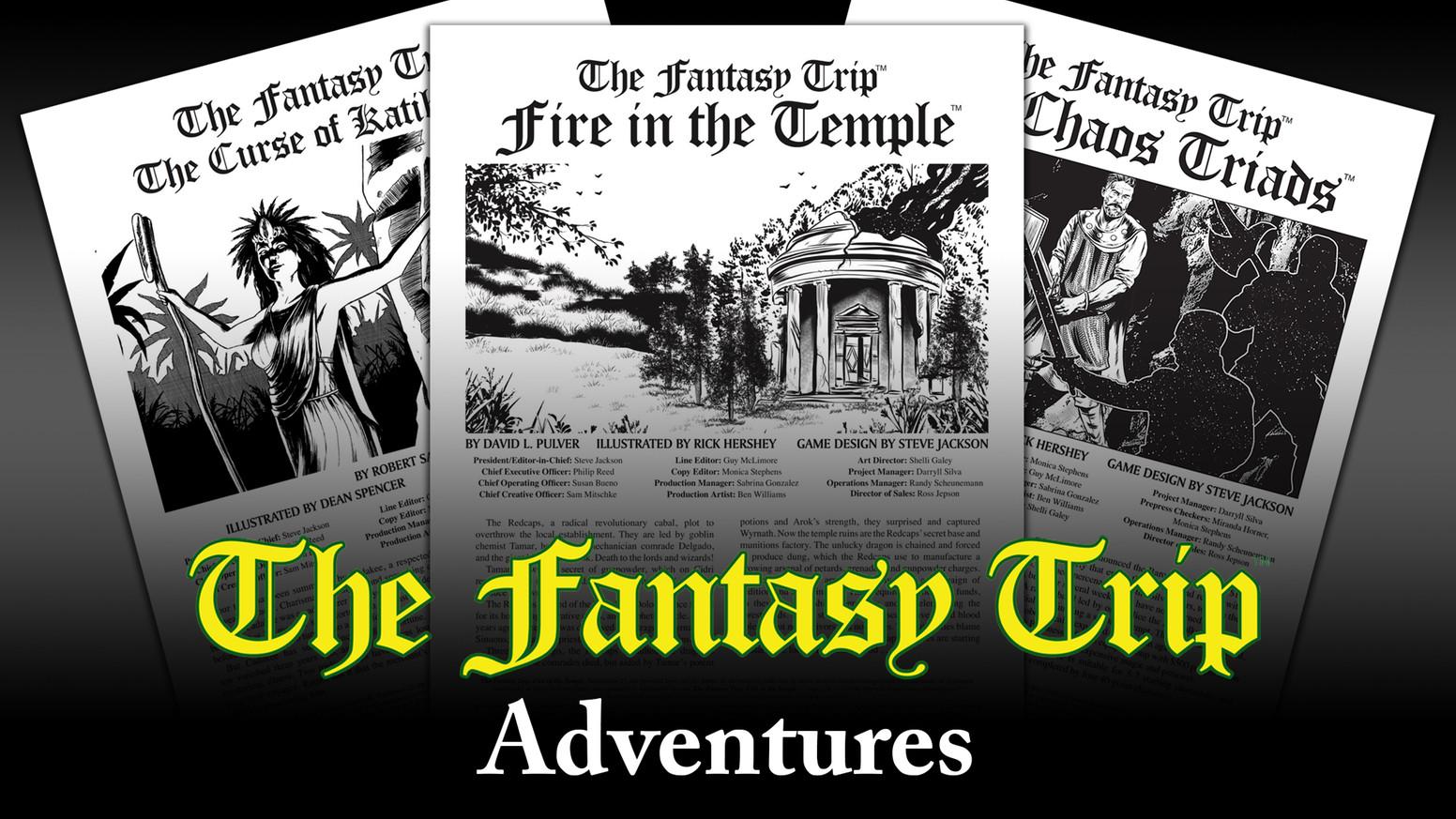 The Fantasy Trip - Fantasy Trip Adventures