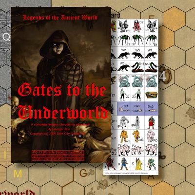 The Fantasy Trip - Gates to the Underworld