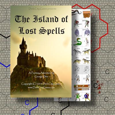 The Fantasy Trip - Island of Lost Spells