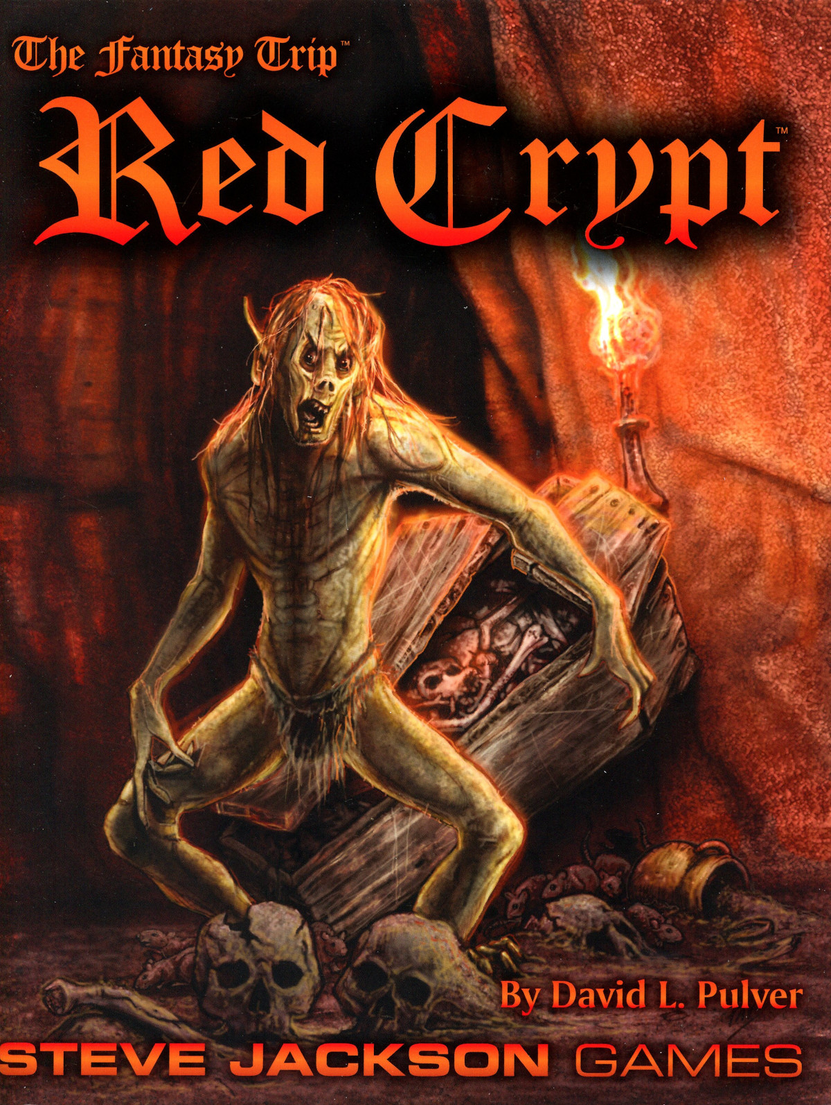 The Fantasy Trip - Red Crypt