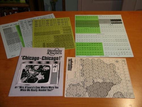 Strategy & Tactics - Game - 21 - Chicago-Chicago! - Flight of the Goeben