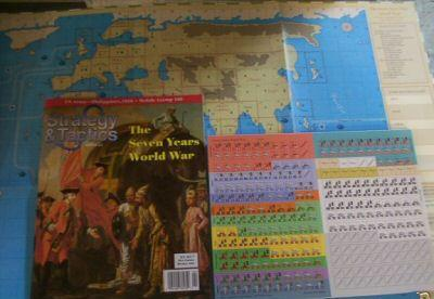 Strategy & Tactics - 221 - The Seven Years World War - Worldwide Conflict in the 18th Century