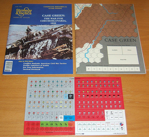 Strategy & Tactics - 152 - Case Green - The War for Czechoslovakia, 1938