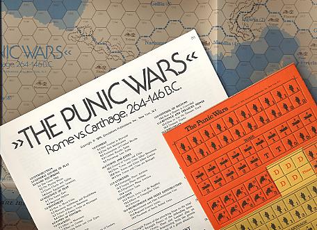 Strategy & Tactics - Game - 53 - The Punic Wars - Rome vs. Carthage, 264-146 BC