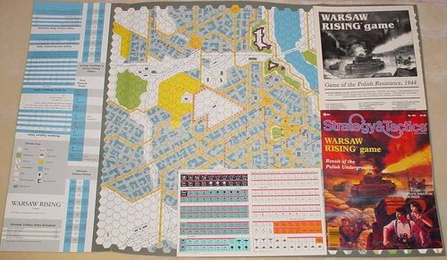 Strategy & Tactics - 107 - Warsaw Rising - Revolt of the Polish Underground, 1944