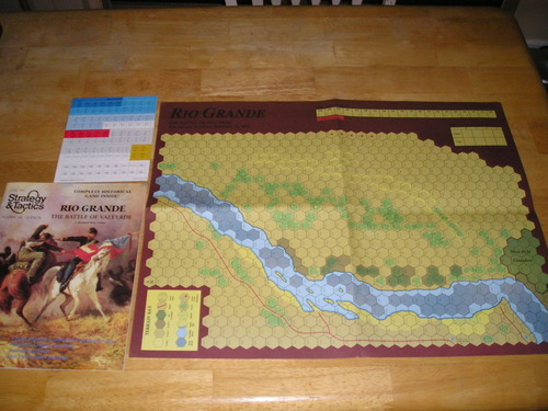 Strategy & Tactics - Game - 143 - Rio Grande - The Battle of Valverde