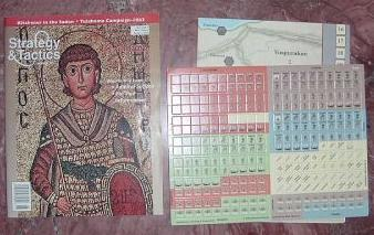 Strategy & Tactics - 183 - Byzantium - Empire & Disaster