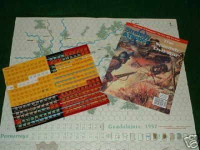 Strategy & Tactics - Game - 219 - The Spanish Civil War