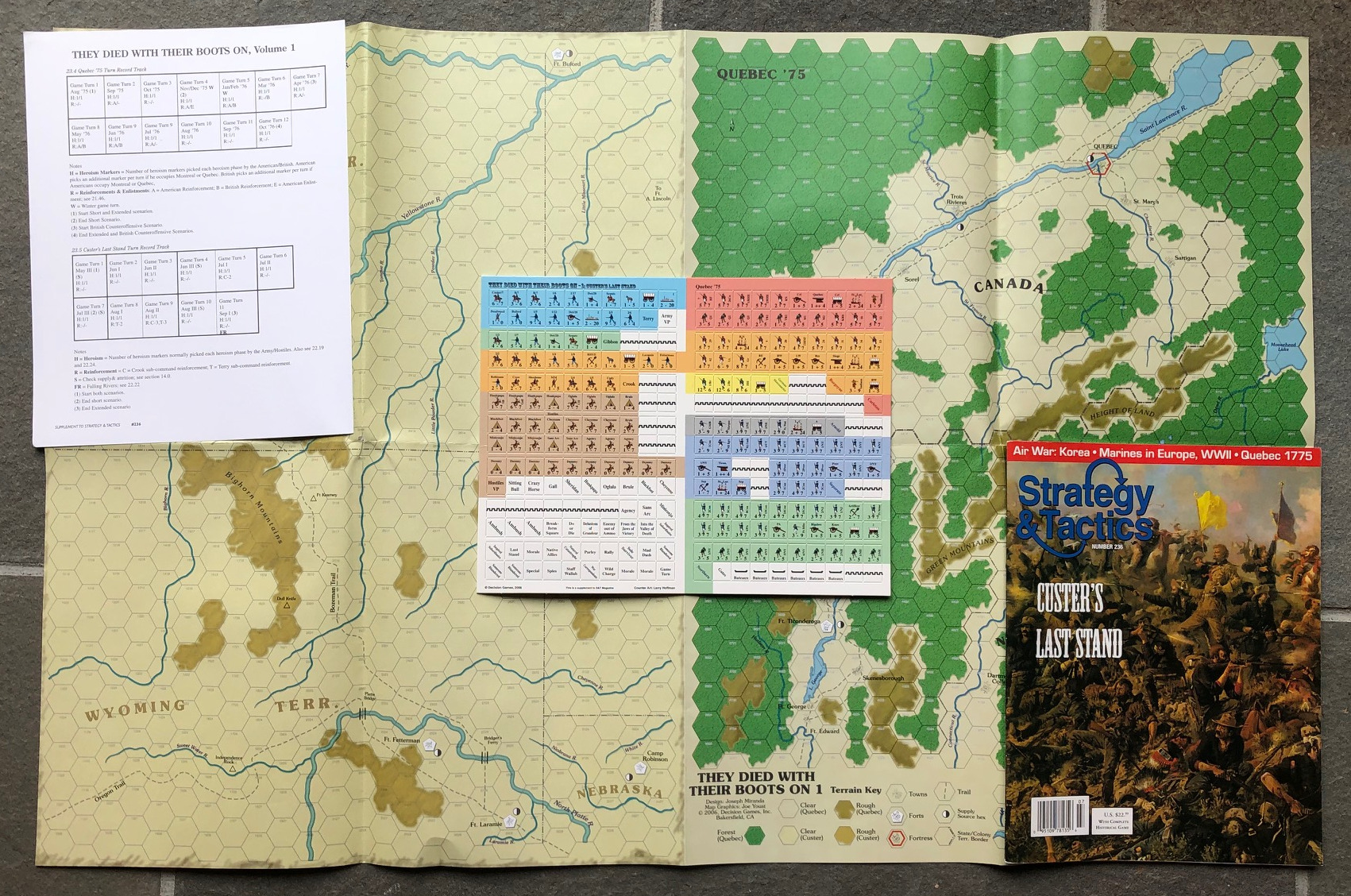 Strategy & Tactics - Game - 236 - Custer