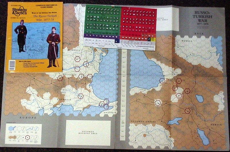 Strategy & Tactics - Game - 154 - The Russo-Turkish War, 1877-78 - Wars of the Imperial Age