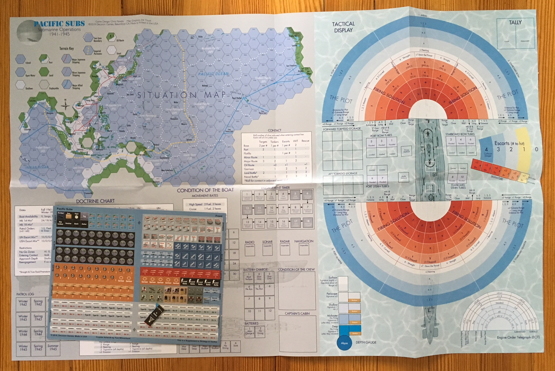 Strategy & Tactics - Game - 311 - Pacific Submarine