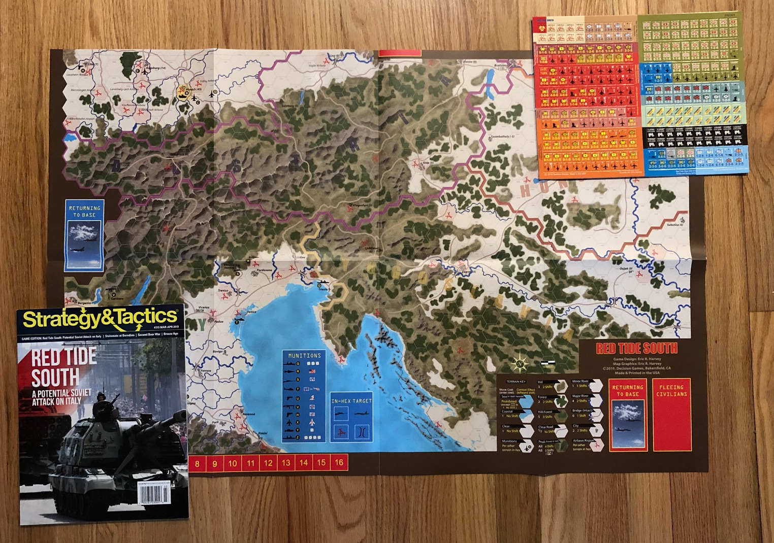Strategy & Tactics - Game - 315 - Red Tide South - A Potential Soviet Attack on Italy