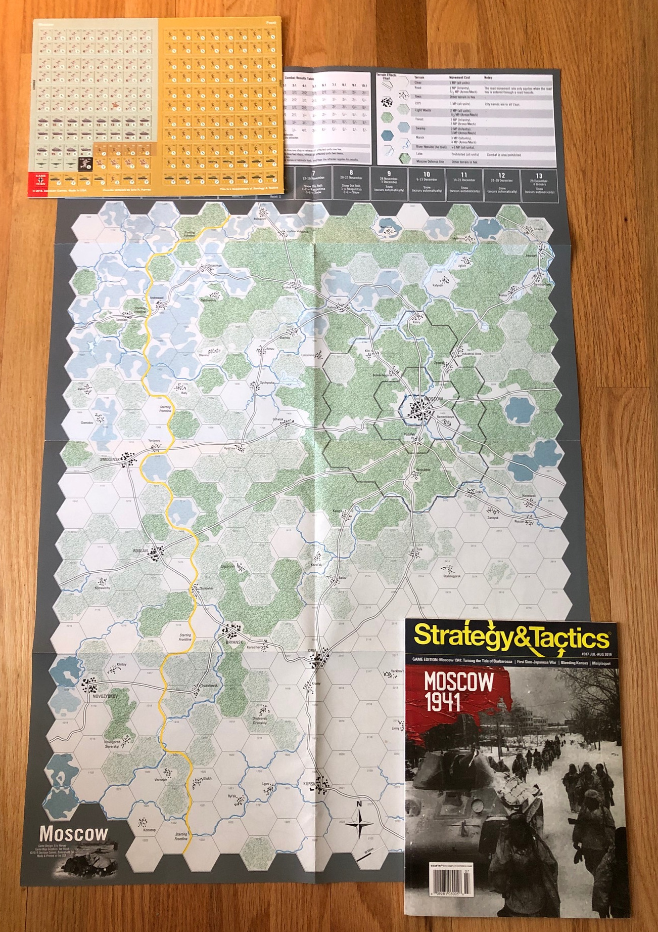 Strategy & Tactics - Game - 317 - Moscow 1941 - The Advance of Army Group Center