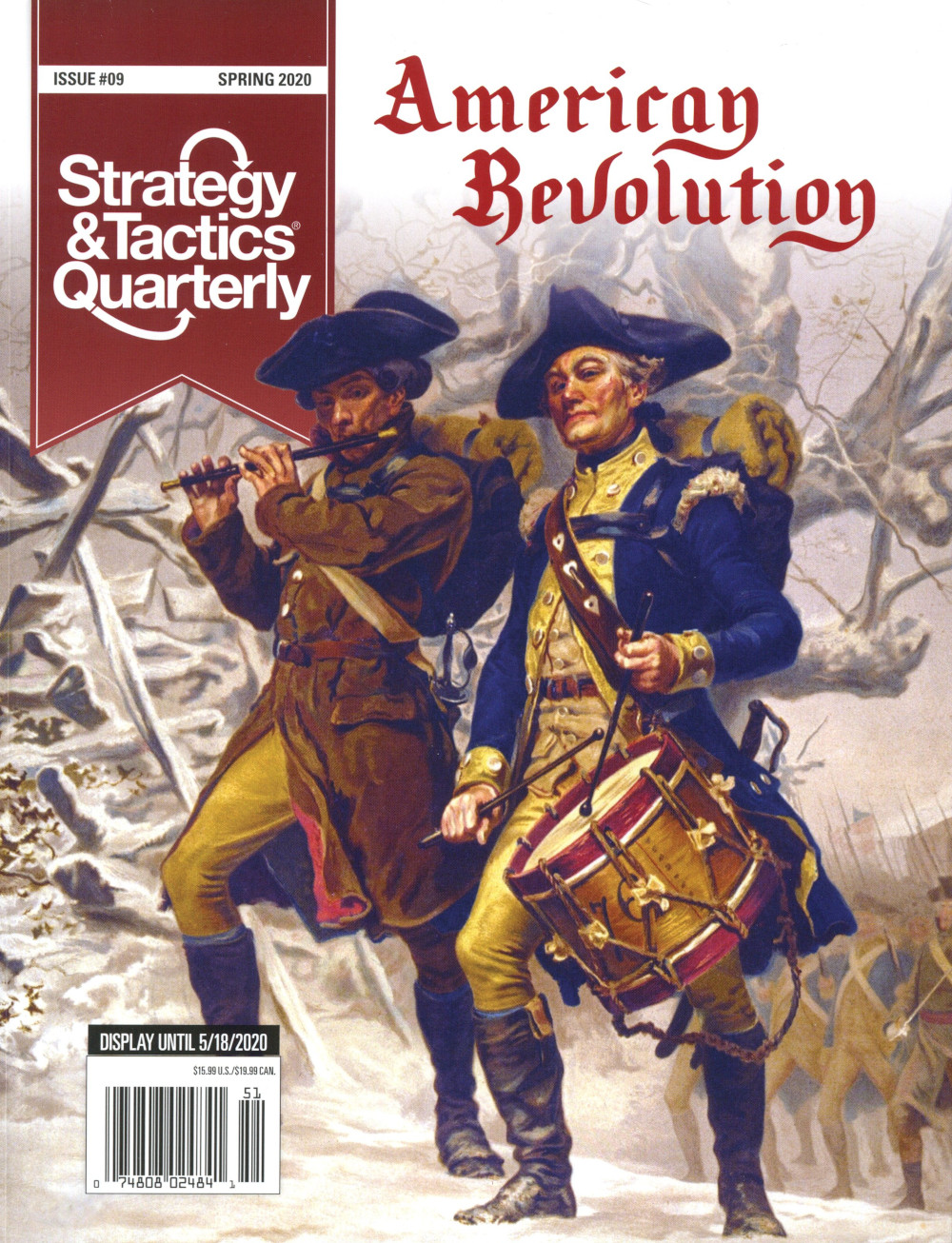 Strategy & Tactics - Quarterly - 9 - American Revolution