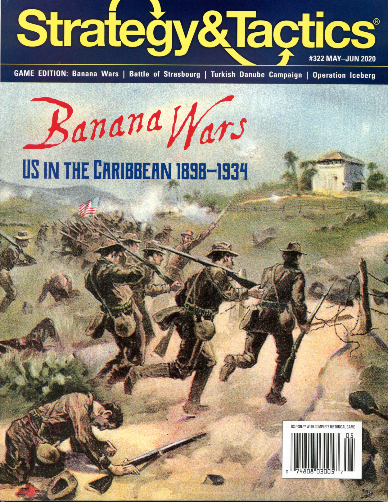 Strategy & Tactics - Game - 322 - Banana Wars - US in the Caribbean 1898 - 1934