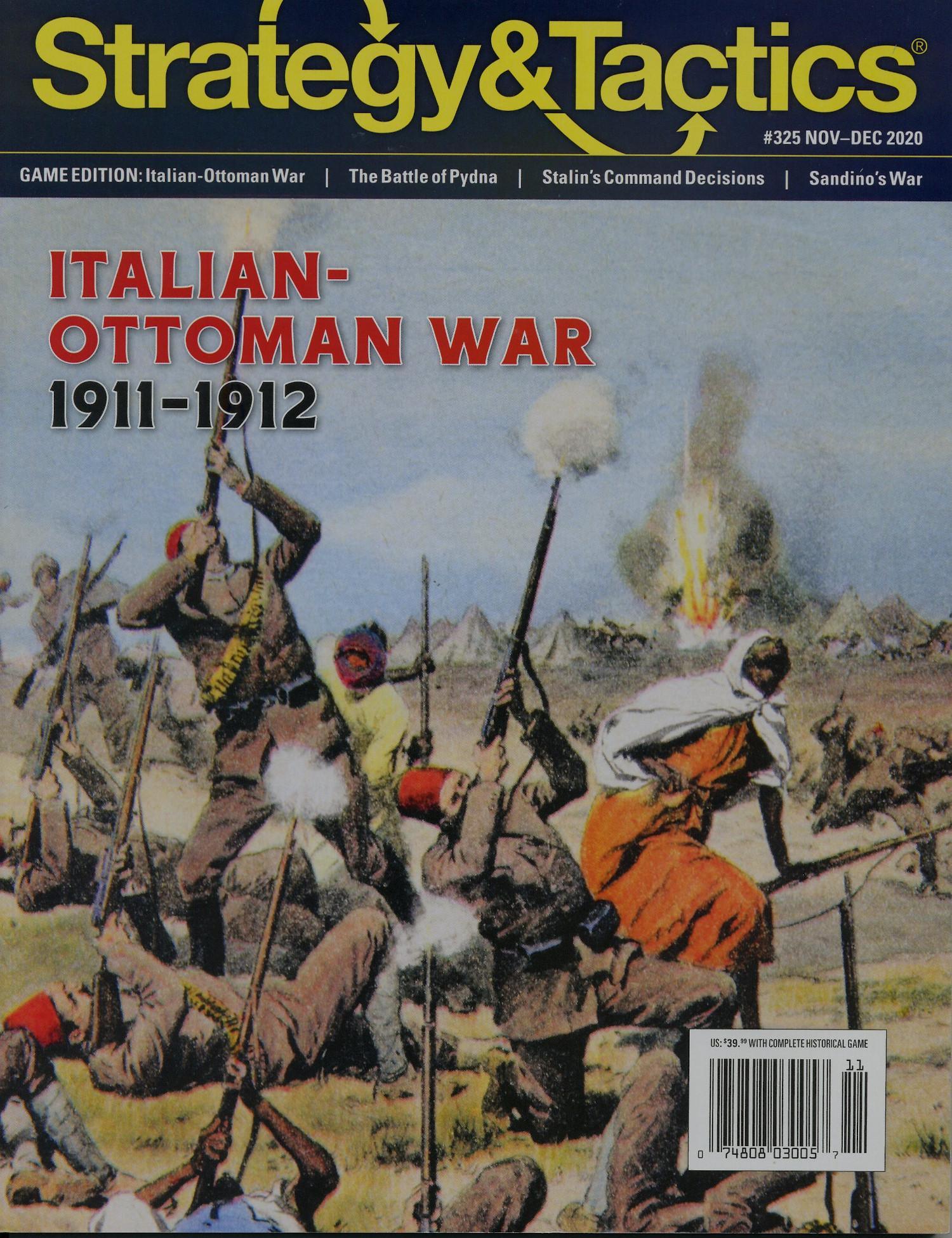 Strategy & Tactics - Game - 325 - Italian-Ottoman War - 1911-1912
