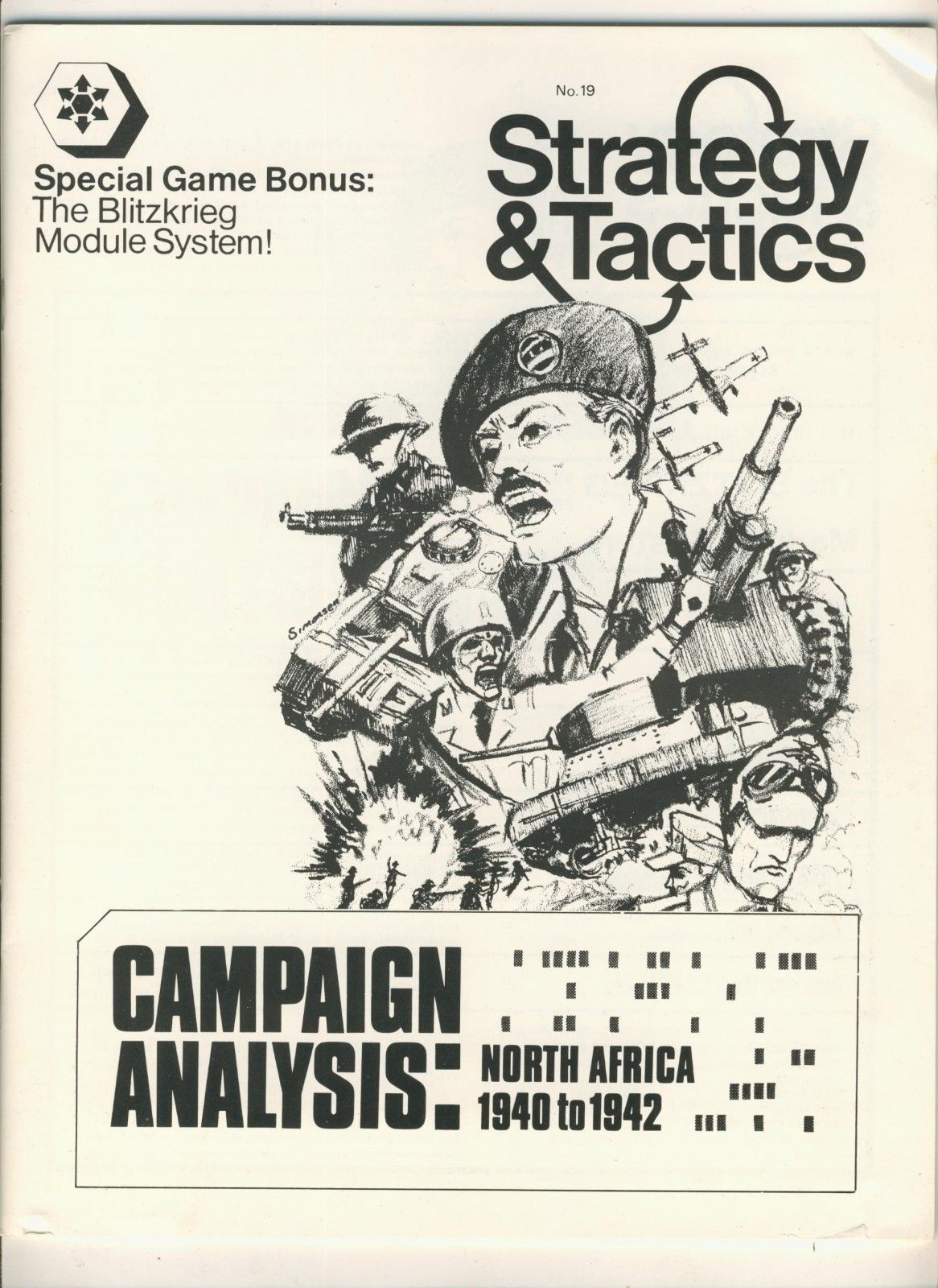 Strategy & Tactics - Game - 19 - Blitzkrieg Module System - Campaign Analysis: North Africa