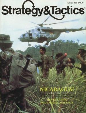 Strategy & Tactics - Game - 120 - Nicaragua! - Revolution in Central America
