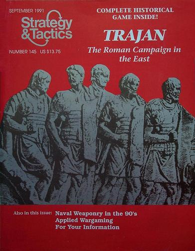 Strategy & Tactics - Game - 145 - Trajan - The Roman Campaign in the East