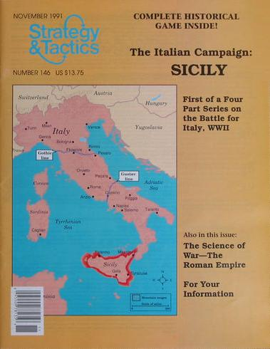 Strategy & Tactics - Game - 146 - Sicily - The Italian Campaign