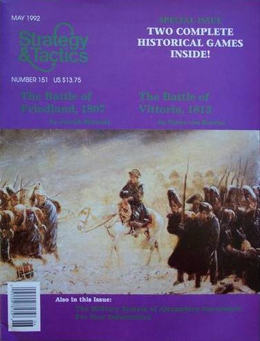 Strategy & Tactics - 151 - Vittoria & Friedland - Napoleonic Battles System