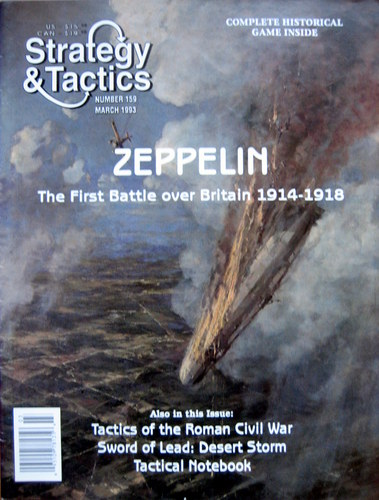 Strategy & Tactics - 159 - Zeppelin - The First Battle over Britain 1914-1918