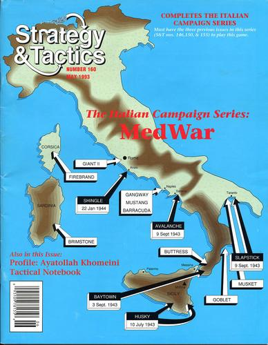 Strategy & Tactics - Game - 160 - MedWar - The Italian Campaign