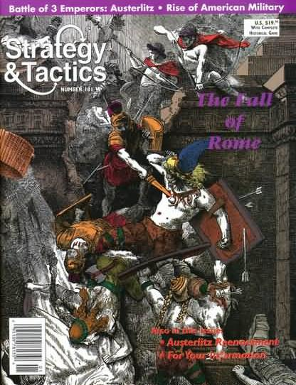 Strategy & Tactics - Game - 181 - The Fall of Rome - Battle of Three Emperors: Austerlitz