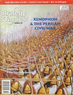 Strategy & Tactics - Game - 203 - Xenophon - The Persian Civil War