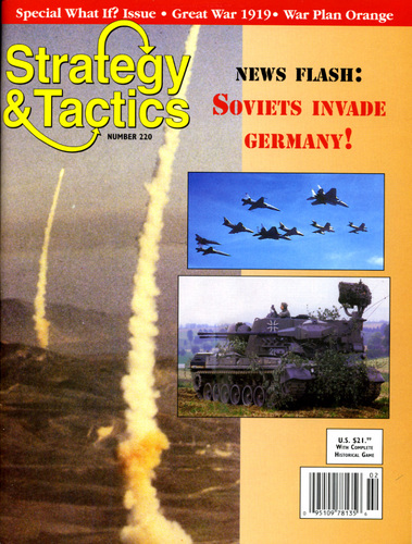 Strategy & Tactics - Game - 220 - Soviets Invade Germany! - Group of Soviet Forces in Germany