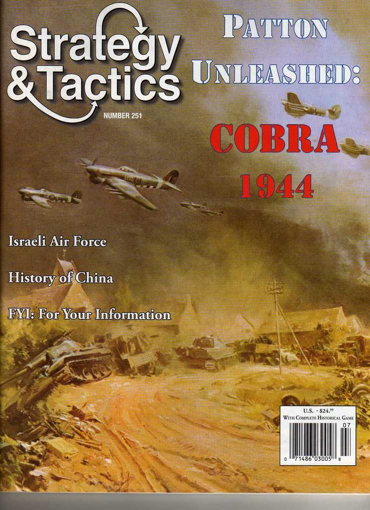 Strategy & Tactics - 251 - Patton Unleashed - Cobra 1944