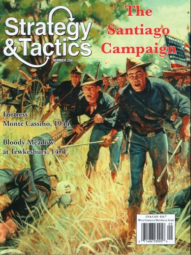 Strategy & Tactics - 258 - The Santiago Campaign - The Campaign for Cuba in the Spanish-American War