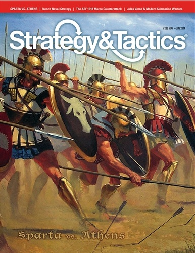 Strategy & Tactics - Game - 286 - Sparta vs. Athens - The Pelopennesian War