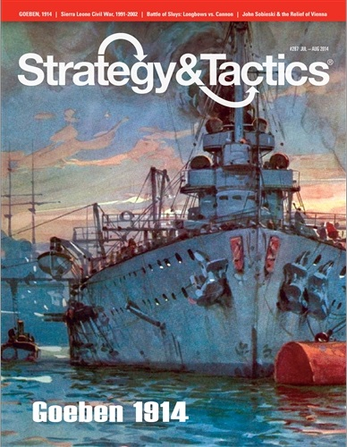 Strategy & Tactics - Game - 287 - Goeben 1914 - The Epic Nava Chase of WW I