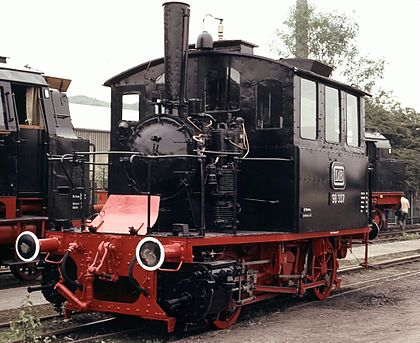 Rail - Locomotive - Steam - 0-4-0 Tank PtL 2/2